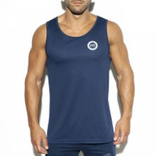 ES Collection TS257 Training Fit Tank Top navy|SUPERSALE
