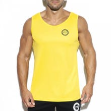 ES Collection TS257 Training Fit Tank Top yellow|SUPERSALE