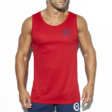 ES Collection TS257 Training Fit Tank Top red|SUPERSALE