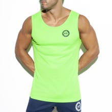 ES Collection TS257 Training Fit Tank Top lemon-green|SUPERSALE