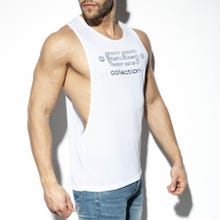 ES Collection TS273 Low Rider Logo Tank Top white