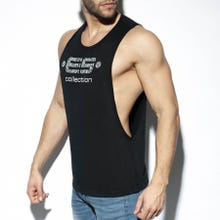 ES Collection TS273 Low Rider Logo Tank Top black|SUPERSALE