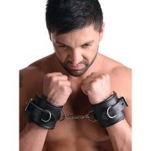Strict Leather - Padded Premium Locking - Wrist Retraints - Handfesseln - black