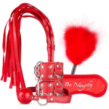 XOXO - Beatty Beginners Bondage Set red | SUPERSALE