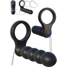 13 x 2,9 cm Fantasy C-Ringz - Remote Control Double Penetrator black