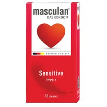 Masculan Kondome Typ1 - sensitive 10 Stk.