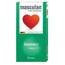 Masculan Kondome Typ4 - anatomic 10 Stk.