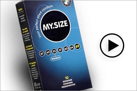 Condome von Mysize im Onlineshop