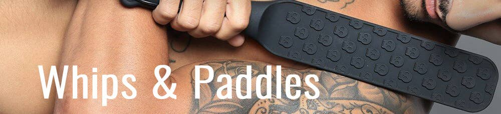 Whips & Paddles bei Dildoking