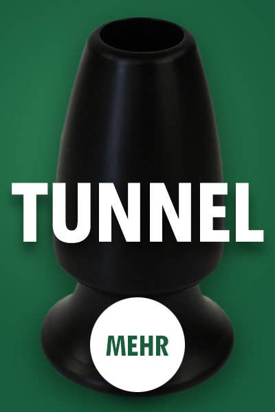 Tunnel Plugs bei Dildoking