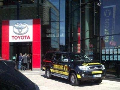 Dildoking bei Toyota
