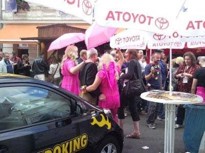 Stadtfest 2010 Dildoking und Toyota